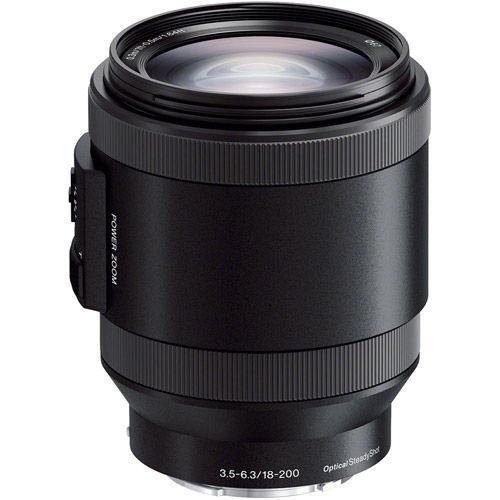 SEL 18-200mm f/3.5-6.3 OSS Power Zoom E-Mount Lens