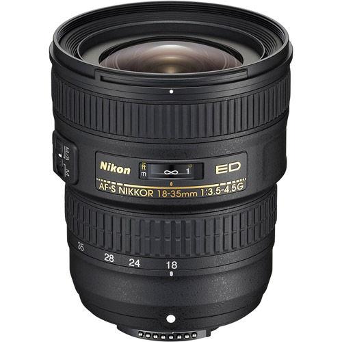 AF-S NIKKOR 18-35mm f/3.5-4.5 G ED Lens