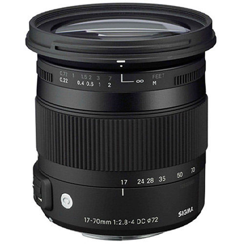 Contemporary 17-70mm f/2.8-4 DC Macro OS HSM Lens for Canon