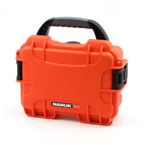 903 Case w/ Foam - Orange
