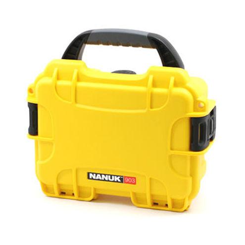 903 Case w/ Foam - Yellow