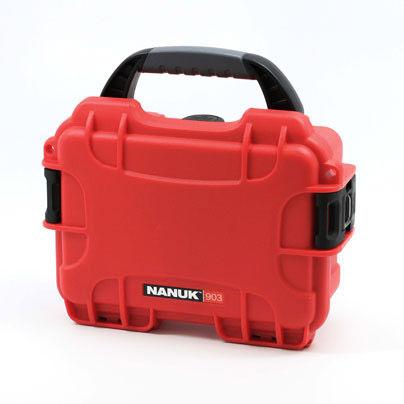 903 Case w/ Foam - Red