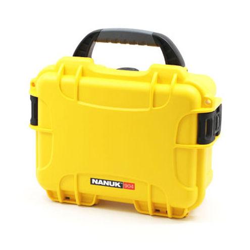 904 Case w/ Foam - Yellow
