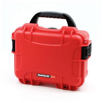 904 Case w/ Foam - Red