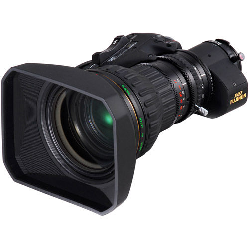 "ZA22x7.6BERM - 2/3"" Select Series HD Lens w. 2x Extender and Semi-Servo Type Handgrip"