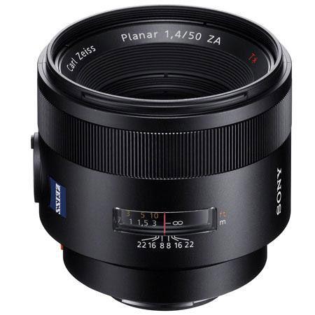 50mm f/1.4 Carl Zeiss Planar T* A-Mount Lens (A99 & A77)
