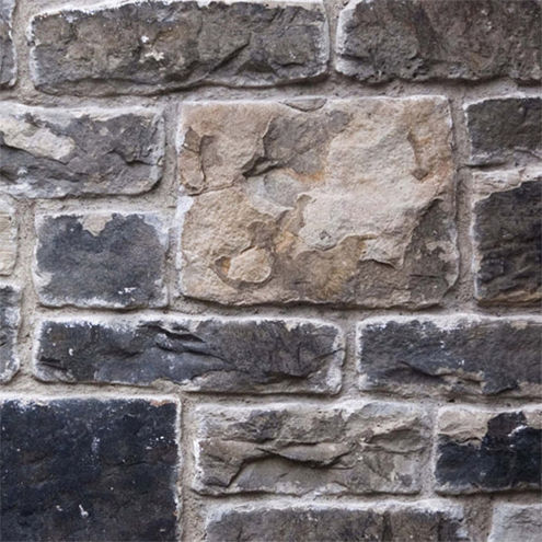 Urban Collapsible 1.5x2.1m Red Brick/Grey Stone