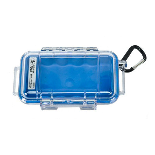 1015 Micro Case Blue/Clear