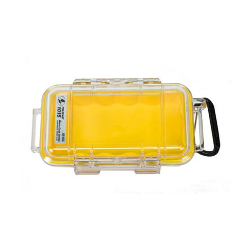 1015 Micro Case Yellow/Clear