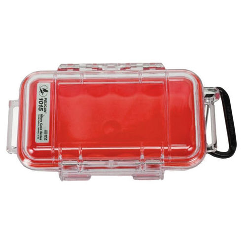 1015 Micro Case Red/Clear