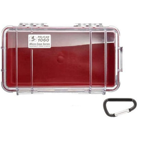 1060 Micro Case Red/Clear