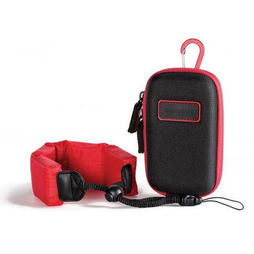 Premium Tough Series Accessory Pack (inc. Hard Shell Case & Red Float Strap)
