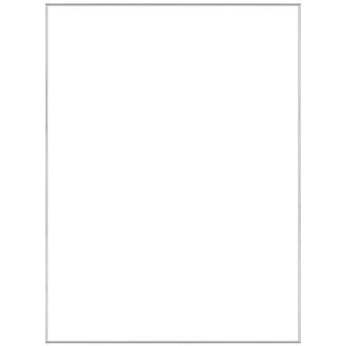 """18"""" x 24"""" Fineline Silver Aluminum Frame with no mat"""
