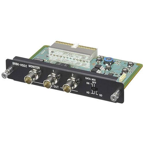 BRBK-HSD2 HD / SD-SDI Output Card for BRC-H900 and BRC-Z330 Robotic PTZ Cameras