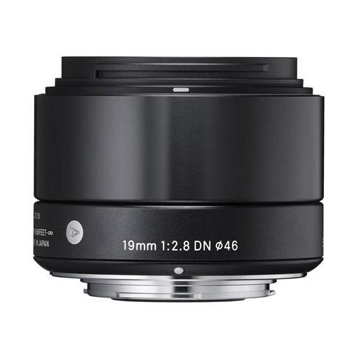 ART 19mm f/2.8 DN Lens for Micro 4/3 Black