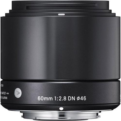 ART 60mm f/2.8 DN Lens for Micro 4/3 Black