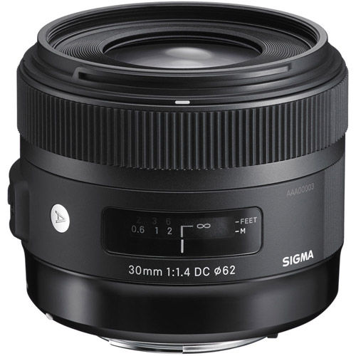 30mm f/1.4 DC HSM Art Lens for Canon