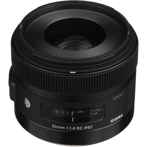 ART 30mm f/1.4 DC HSM Wide Angle Lens for Nikon