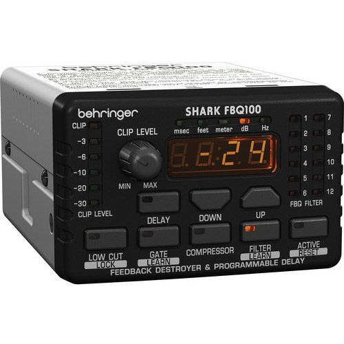 SHARK FBQ100 Automatic Feed back Destroyer with Delay Line