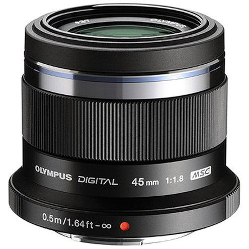 M.Zuiko 45mm f/1.8 Black Lens