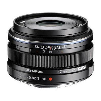 M.Zuiko 17mm f/1.8 Black Lens