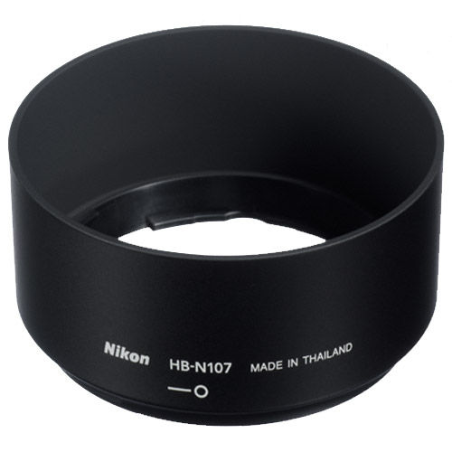 HB-N107 Black Lens Hood for 1 NIKKOR 32mm f/1.2 Lens
