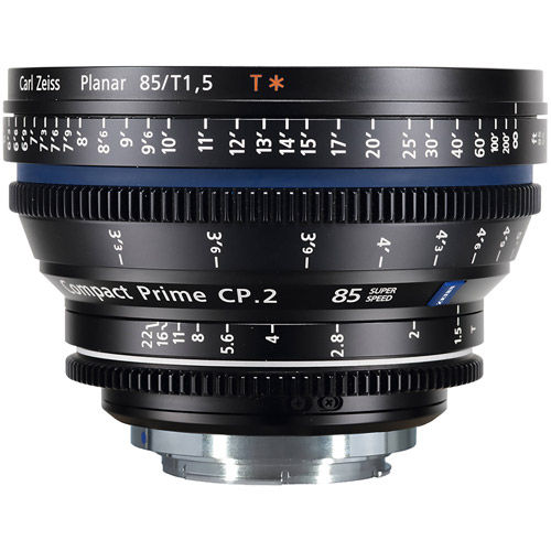 CP.2 T*85mm f/1.5 PL Super Speed Compact Prime (feet) - 7pc+ Lens Kit