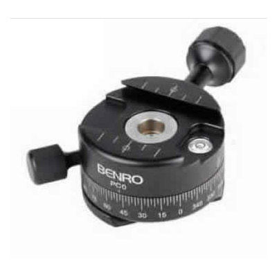 PC0 PC-Series Panoramic Head Arca-Swiss for Benro Series 1 and 2 Tripods