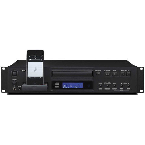 CD-200iL Rack Mount CD Player with iPod Dock