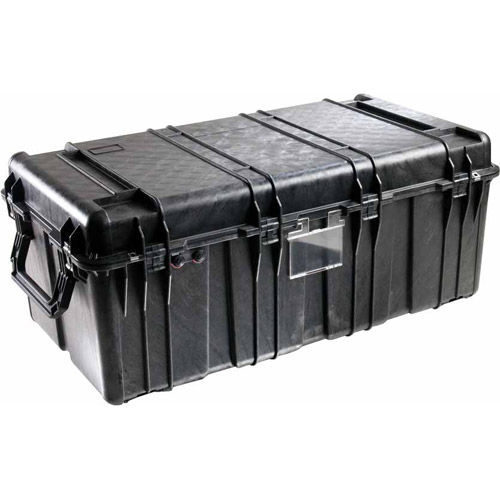 0550 Transport Case Black with Foam
