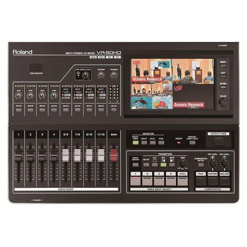 VR-50HD Multi-Format A/V Mixer