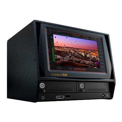 RX3G Record, Playback Monitor and Transcode System