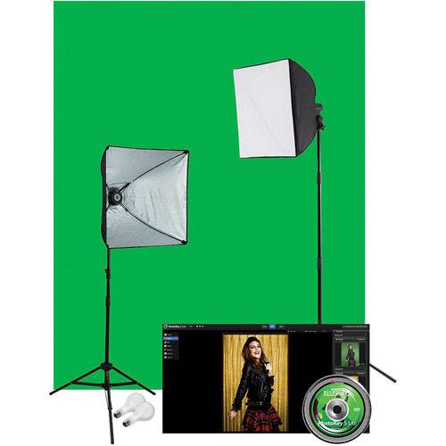 Photo Illusion Lighting Kit With PhotoKey 5 LITE