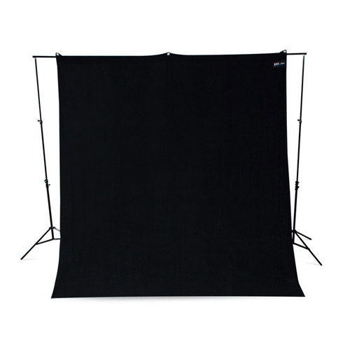9'x10' Rich Black Backdrop Wrinkle Resistant
