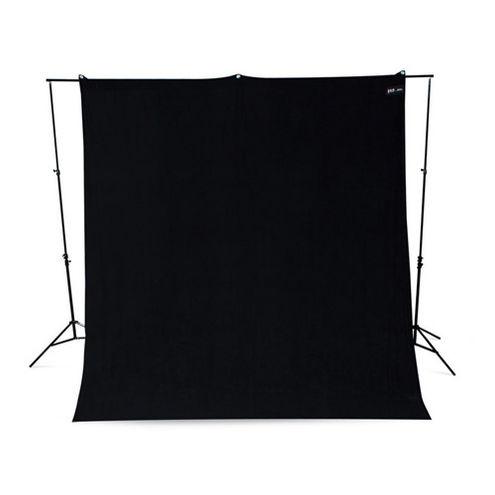 9'x10' Rich Black Backdrop Wrinkle Resistant