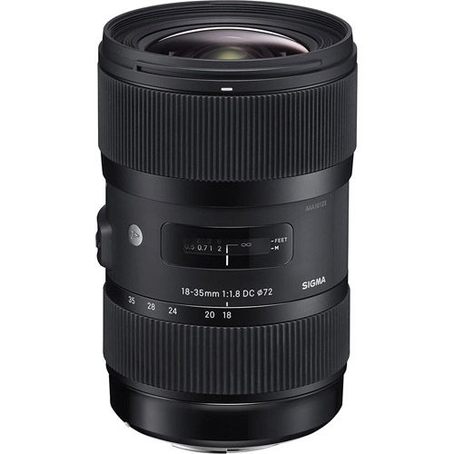 ART 18-35mm f/1.8 DC HSM Lens for Nikon
