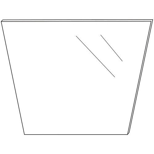 PT 2500-G Replacement Glass for Elite iPad Teleprompter Kit