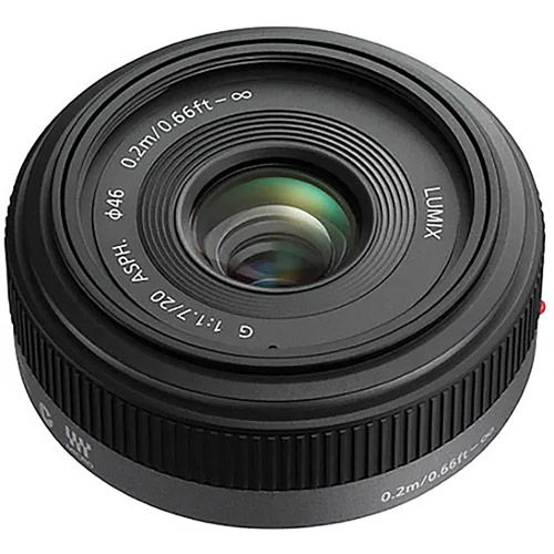 Micro Four-Thirds Fixed Focal Length Standard Lenses
