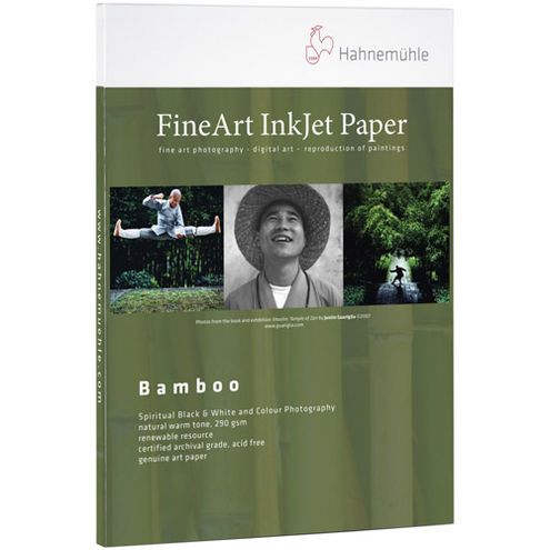 """8.5""""x11"""" Bamboo 290 gsm - 25 Sheets"""