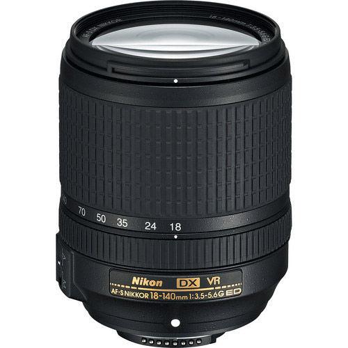 AF-S 18-140mm f/3.5-5.6 G DX ED VR Zoom Lens