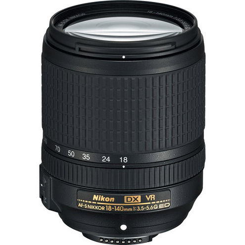 AF-S DX NIKKOR 18-140mm f/3.5-5.6 G ED VR Lens