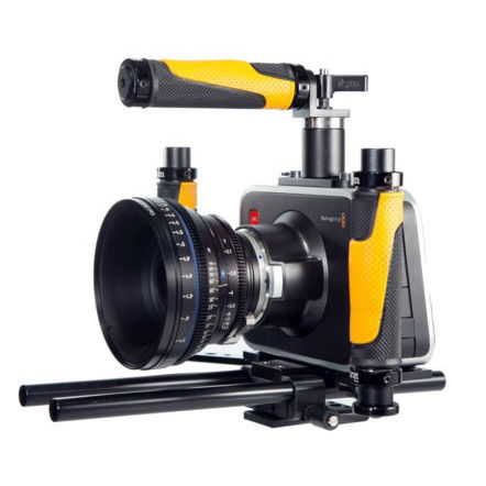 Tri-Fly Cinema Camera Handheld Rig for Blackmagic Design Cinema Camera
