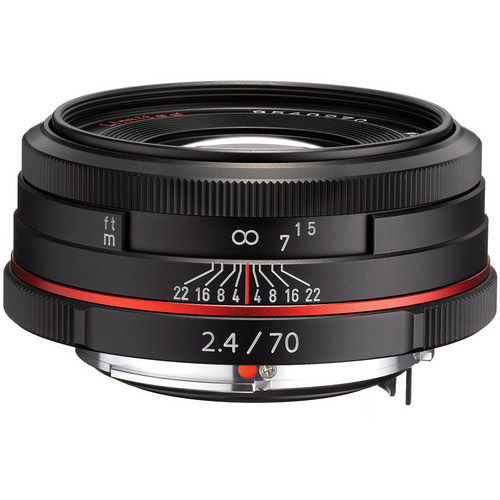 HD Pentax-DA 70mm F/2.4 Lens - Black