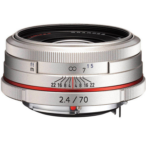 HD Pentax-DA 70mm F/2.4 Lens - Silver