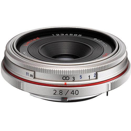 HD Pentax-DA 40mm f/2.8 Lens - Silver