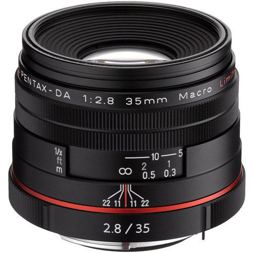 HD Pentax-DA 35mm f/2.8 Macro Lens - Black