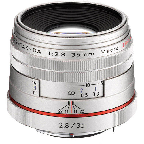 HD Pentax-DA 35mm f/2.8 Macro Lens - Silver