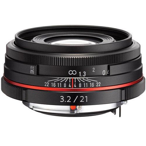 HD Pentax-DA 21mm f/3.2 AL Lens - Black