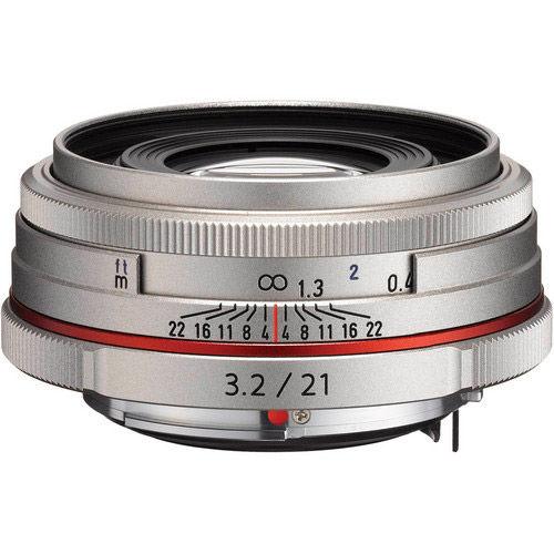 HD Pentax-DA 21mm f/3.2 AL Lens - Silver