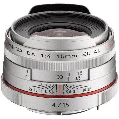 HD Pentax-DA 15mm f/4 ED AL Lens - Silver